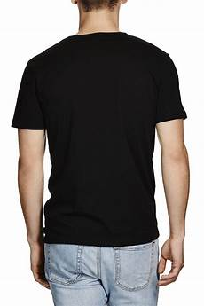 men s 100 cotton plain blank fit bulk wholesale t shirt mens crew neck black plain t