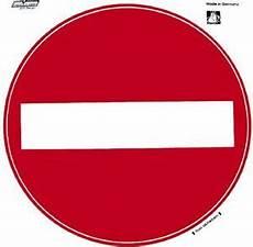 307422 pvc aufkleber warnhinweis durchfahrt verboten