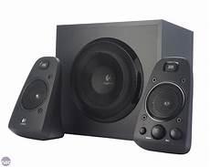 audio system subwoofer logitech speaker system z623 review bit tech net