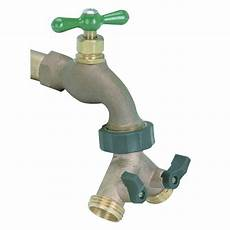 Solid Brass Faucet Expander 2 Way Valve Hose Garden