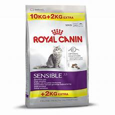 royal canin cat sensible 33 10kg 2kg free 12kg the pet