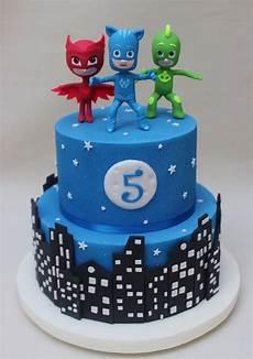 pj mask cake violeta glace pj masks birthday cake pj