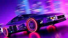 80s neon car wallpaper 76 neon 80s wallpapers on wallpaperplay