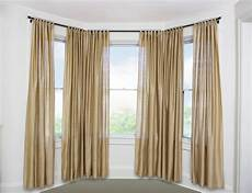 Best Window Curtains by Best Curtain Rods For Bay Windows Homesfeed