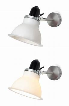 type 1228 wall light wall l white by anglepoise made in design uk