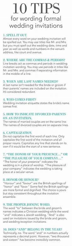 Wedding Invitation Tips