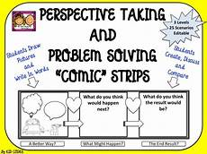 perspective taking and problem solving comic style for 3rd 5th grade best thought
