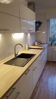 neue arbeitsplatte küche meine neue k 252 che arbeitsplatte in apfelbaum granitsp 252 le