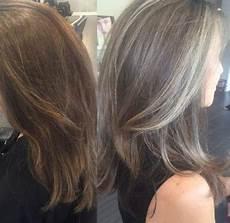 neue haarfarbe grau silber noble 65 ideen sa 231 g 252 zelliği
