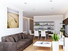 Modernes Wohnzimmer Braun - style in simplicity visualized