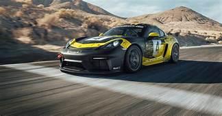 Porsche 718 Cayman GT4 Clubsport Race Car Sports Hemp