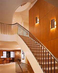 modern wall sconce staircase contemporary with white off switch