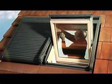 Velux Volet Roulant Comment Installer Le Volet Roulant Solaire Ssl Velux