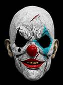 Clown Horror Mask Made Of Latex  Halloween Costumes