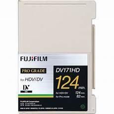 hdv cassette fujifilm dv171hd124l metal evaporated hdv 15999361 b h