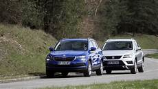 2018 Skoda Karoq Vs 2018 Seat Ateca Technical