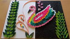 Home Decor Ideas Using Paper by Paper Quilling Amazing Diy Room Decor With Bird