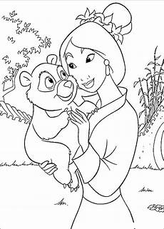 Malvorlagen Disney A4 Mulan Coloring Pages To And Print For Free
