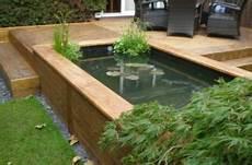bassin de jardin hors sol construction