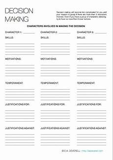 decision making worksheet decision making writing worksheet wednesday