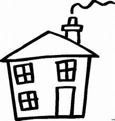 Gratis Malvorlagen Haus Haus Mit Drei Fenstern Ausmalbild Malvorlage Gemischt