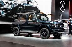 2018 Detroit Auto Show The New Mercedes G