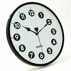 50cm Wall Clock Hanging Silent Quartz by Hippih 10 Quot Silent Quartz Non Ticking