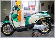 Modifikasi Scoopy Karbu by 2019 Modifikasi Scoopy Terbaru Babylook Thailook Stylish