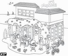 Playmobil Ausmalbilder Haus Pin By Ingrid On Kinder Playmobil Coloring Pages