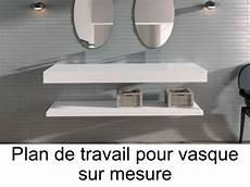 lavabo sur mesure vasques plan vasque plan de travail sur mesure en solid
