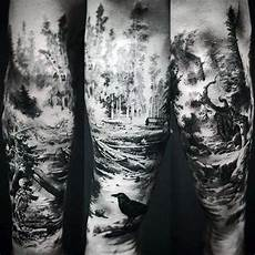 100 Forest Designs For Masculine Tree Ink