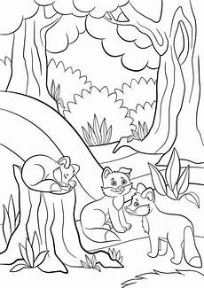 baby forest animals coloring pages 17512 waterfal de for 234 t jungle dessin anim 233 livre 224 colorier image vectorielle alexanderpokusay