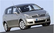 Technische Daten Toyota Corolla Verso