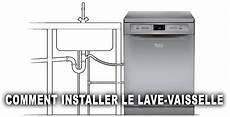 comment installer le lave vaisselle