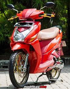 Modifikasi Motor Vario 110 by Modifikasi Warna Vario 110 Modifikasi Motor Terbaru