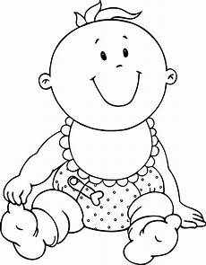 very cute baby coloring page wecoloringpage com