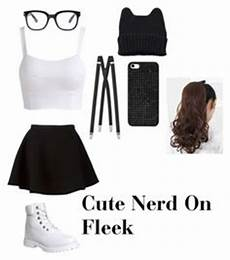 nerdy with glasses glass clothes and