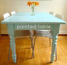 family feedbag a painted table love this color