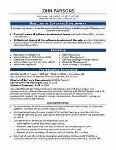 sle resume for an experienced it developer monster com