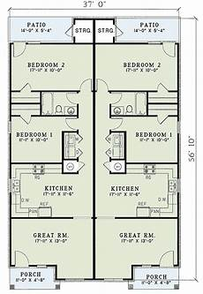 house plans for duplexes contemporary duplex plan 59370nd architectural designs