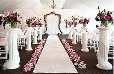 wedding ceremony decorations hire in essex and london laceys event services wedding decor hire