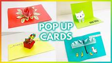 5 Simple And Easy Pop Up Card Tutorials