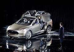 Tesla Unveils The Model X Worlds First All Electric