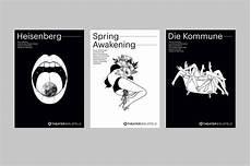 Theatre Bielefeld Seasonposters Graphic Design Poster