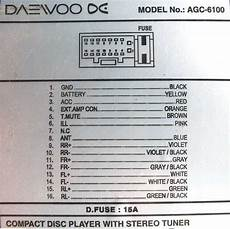 daewoo agc 6100 pinout diagram pinoutguide com