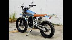 Modifikasi Motor Scrambler by Modifikasi Motor Klasik Yamaha Scorpio Modif