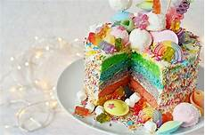 einfaches rezept fuer regenbogen regenbogen torte backen rezept f 252 r rainbow cake
