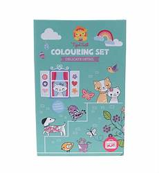 worksheets cars 18820 tiger tribe colouring set delicate detail play craft kid republic test tiger tribe