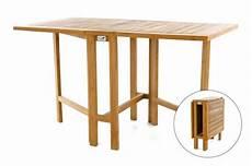 Gartentisch Klappbar Holz - divero balkontisch gartentisch tisch klapptisch 130x65 cm