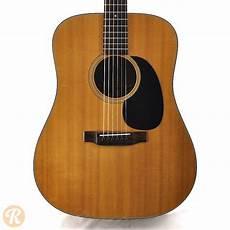 1970s Martin D 18 Dreadnought Acoustic Guitar Reverb